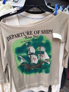 Shirts that make no sense: Departure of Ships Rna Inc